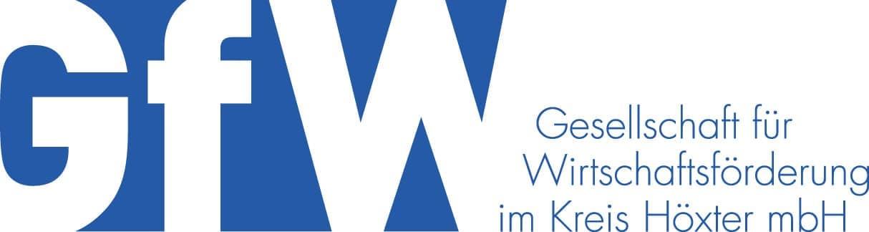Logo GFW - Gesellschaft für Wirtschaftsförderung im Kreis Höxter