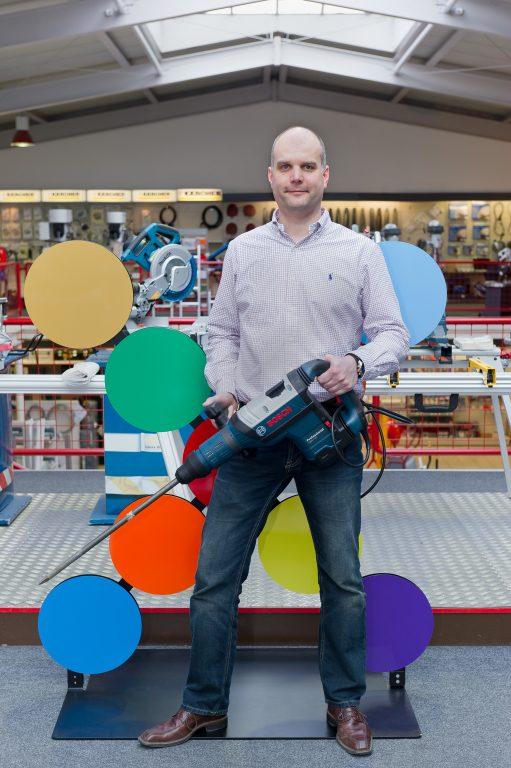 Jens Mikus, Geschäftsbereichsleiter Handwerks- und Industriebedarf, Meinolf Gockel GmbH