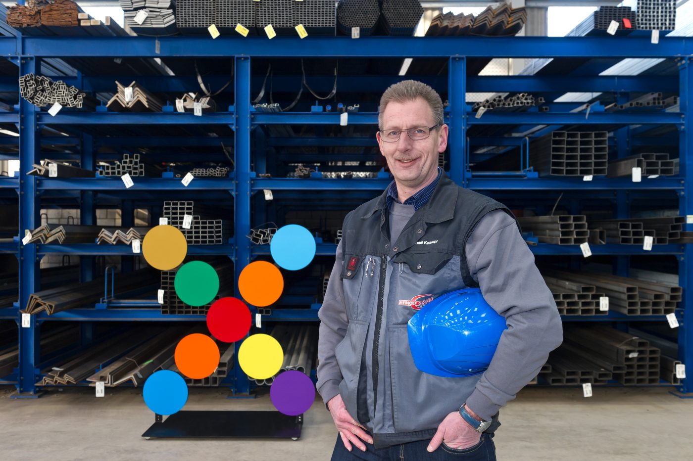 Michael Kohaupt, Leitung Lager- und Logistik, Meinolf Gockel GmbH